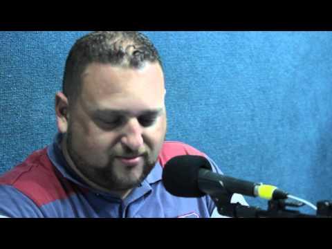 Locutor Sombra Radialista Wellington de Andrade na Radio Difusora1540