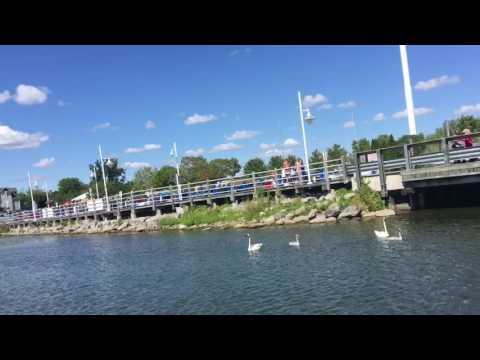 Пикеринг. Озеро Онтарио. Pickering. Lake Ontario.
