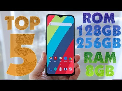 Top 5 Best NEW Smartphones 8GB RAM 128GB/256GB ROM
