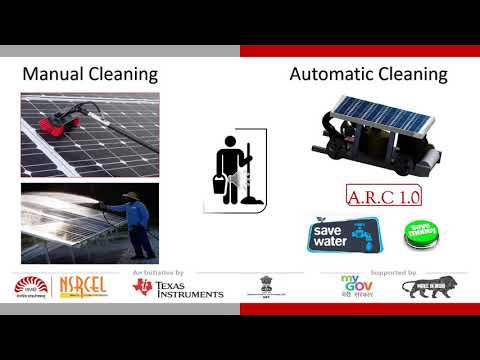 """Low-Cost Automated Solar Panel Cleaner """"Business part II ICDC 2017 """""""