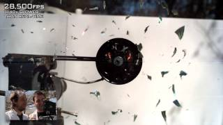 Copy of CD Shattering at 170,000FPS!   The Slow Mo Guys