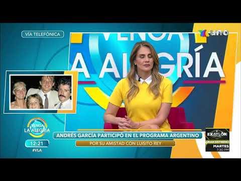 Andrés García Confiesa que Luisito Rey mató a Marcela Basteri