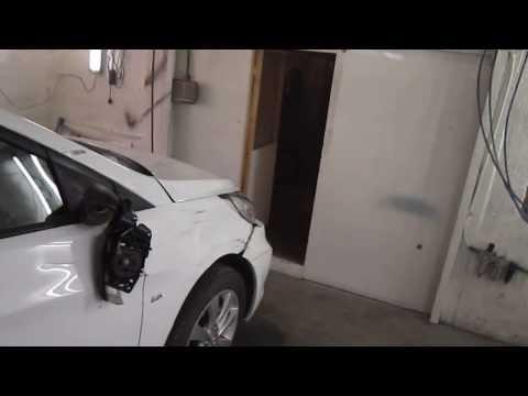 Hyundai Solaris перевёртыш часть1 обзор повреждений