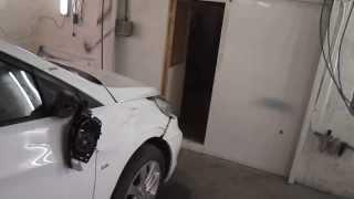Hyundai Solaris перевёртыш часть1 обзор повреждений смотреть