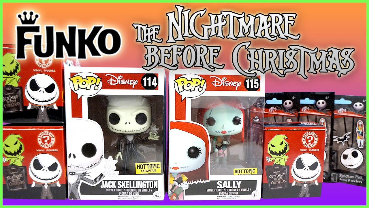 The Nightmare Before Christmas - Funko Pop - Mystery Minis - Dog ...