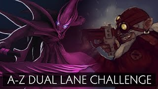 Dota 2 A-Z Dual Lane Challenge - Sniper and Spectre