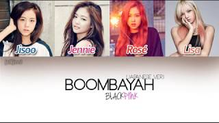 Gambar cover BLACKPINK (ブラックピンク) - BOOMBAYAH (Japanese Ver.) (Color Coded Kan|Rom Lyrics) | by jellijinni