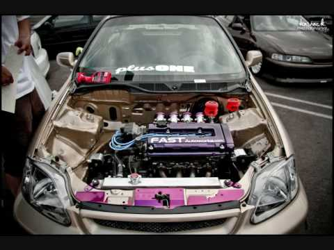 Honda Civic 6th gen EJ EK JDM tribute - YouTube