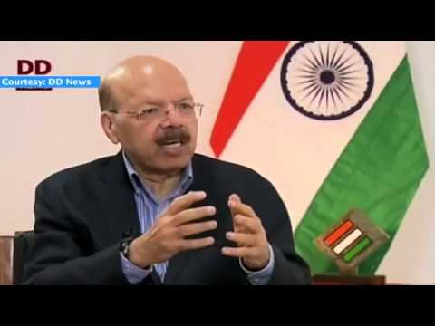 Special Conversation with Dr  Nasim Zaidi, Chief Election Commissioner