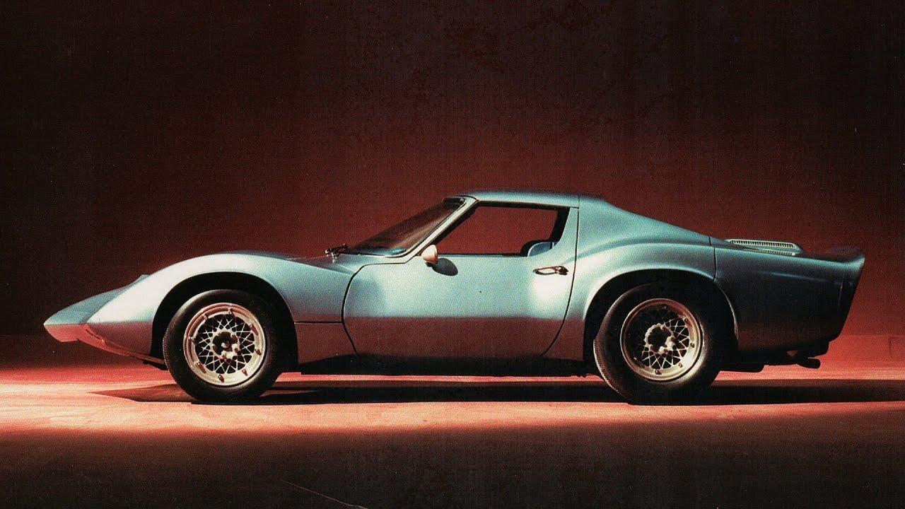 Amelia Island 2013: 1964 Corvette XP-819 - Jay Leno's Garage - YouTube