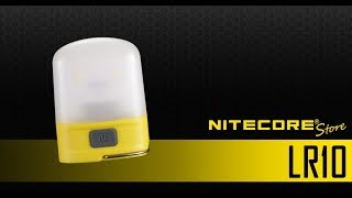 NITECORE LR10 250 Lumen USB Rechargeable Pocket Camping Lantern
