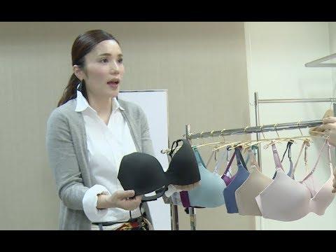 平野ノラが下着モデルに初挑戦/webムービー「TRY! シンクロブラ」平野ノラ楽屋編