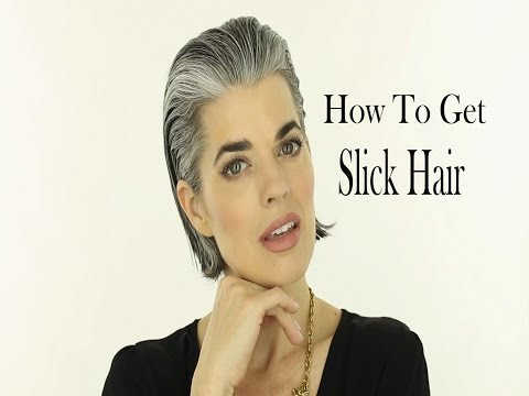How to Slick Back a Short Bob Haircut