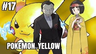 Zagrajmy z Kushim - Pokemon Yellow (odc. #17 - GIOVANNI I ERIKA - dwie walki, dwa światy)