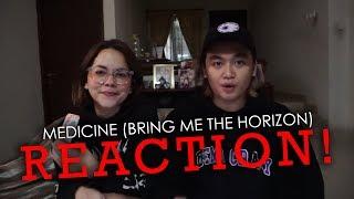 Medicine (Bring Me The Horizon) REACTION!   Bounty Ramdhan #SudutPandang Video