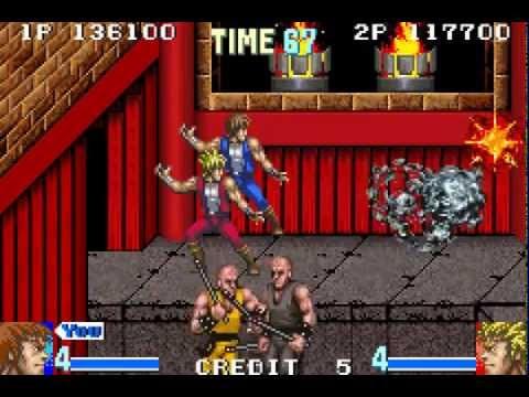 Double Dragon Advance Longplay (Game Boy Advance) [60 FPS]