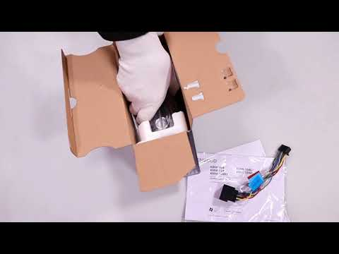 Unboxing Car radio KMM-124 multicolor hands on review
