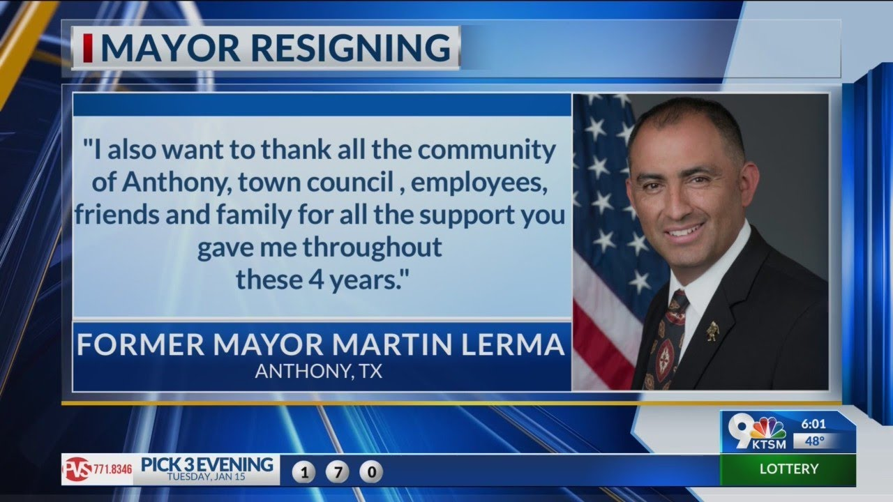 Texas mayor says he had already resigned after writing 'only the ...