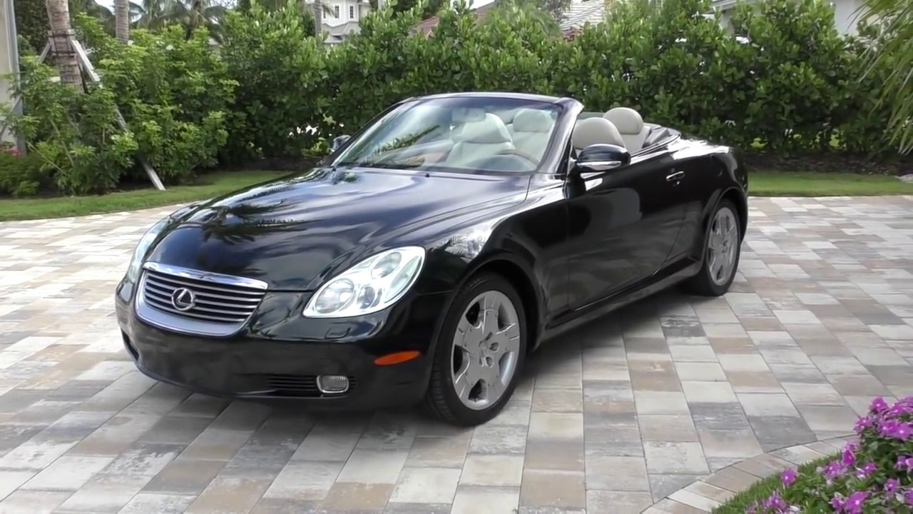 2005 Lexus Sc430 Convertible Review And Test Drive By Bill Auto Europa Naples Youtube