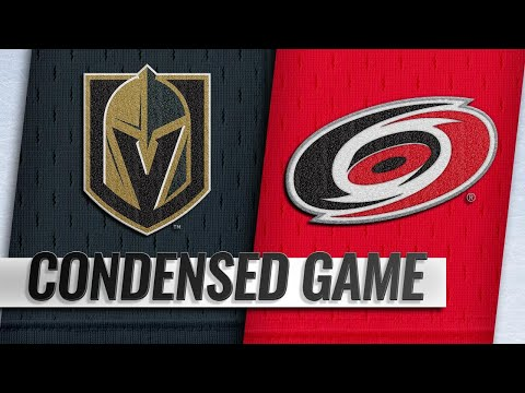 02/01/19 Condensed Game: Golden Knights @ Hurricanes