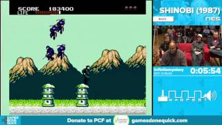 Shinobi by infinitemystery in 10:21 - Awesome Games Done Quick 2016 - Part 93
