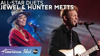 "Hunter Metts And Jewel Duet ""Who Will Save Your Soul"" + Hunter's Sia Cover! - American Idol 2021"