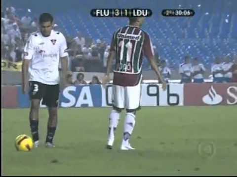 Fluminense 3 x 1 LDU  - Final da Taça Libertadores da América 2008 [JOGO COMPLETO]