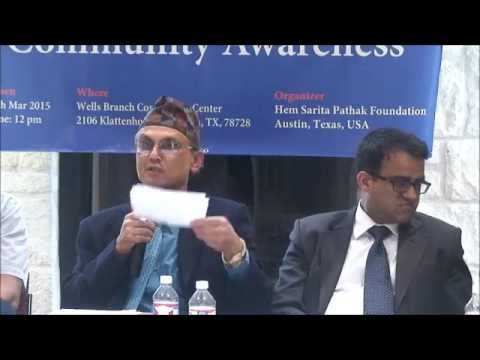 US Immigration Law and Awareness Program for Nepali Community in Austin, Texas