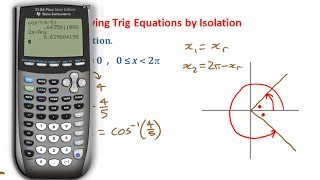 PC12 4.4a Solving First Degree Trig Equations by Isolation