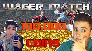 FIFA 14   Marcel vs. Niels   100.000 COINS WAGER-MATCH   Ultimate Team PS4