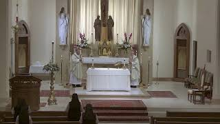 Fourth Sunday of Easter - Mass at St. Joseph's - 5.3.20 with Monsignor Harris