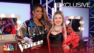 The Voice 2018 - Kelly Clarkson and Jennifer Hudson