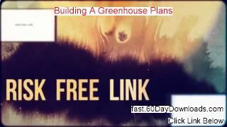 Buildingagreenhouseplans