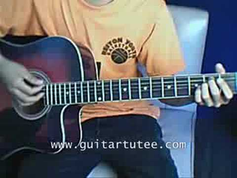 Ready Set Don't Go (of Billy Ray Cyrus ft. Miley Cyrus, by www.GuitarTutee)