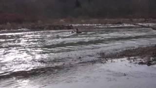 Jay sunk his 700r xxx Honda in yellow creek wellsville