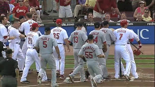 MLB: Bench-Clearing Brawls