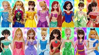 프린세스로 변신! 디즈니 공주 드레스 만들기 전부 모아…