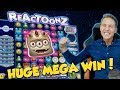 BIG WIN!!! Reactoonz Huge Win - Casino Games - free spins (Online Casino)