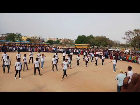Mrec|akshara 2k18 flash mob