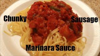 Chunky Sausage Marinara Sauce    Teresa Lawson