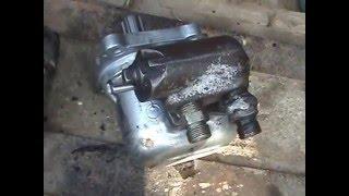 Падает кузов на нейтрали, ГАЗ 53 самосвал ремонт!