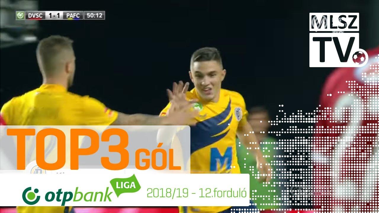 TOP 3 GÓL – 12. forduló | OTP Bank Liga | 2018/2019