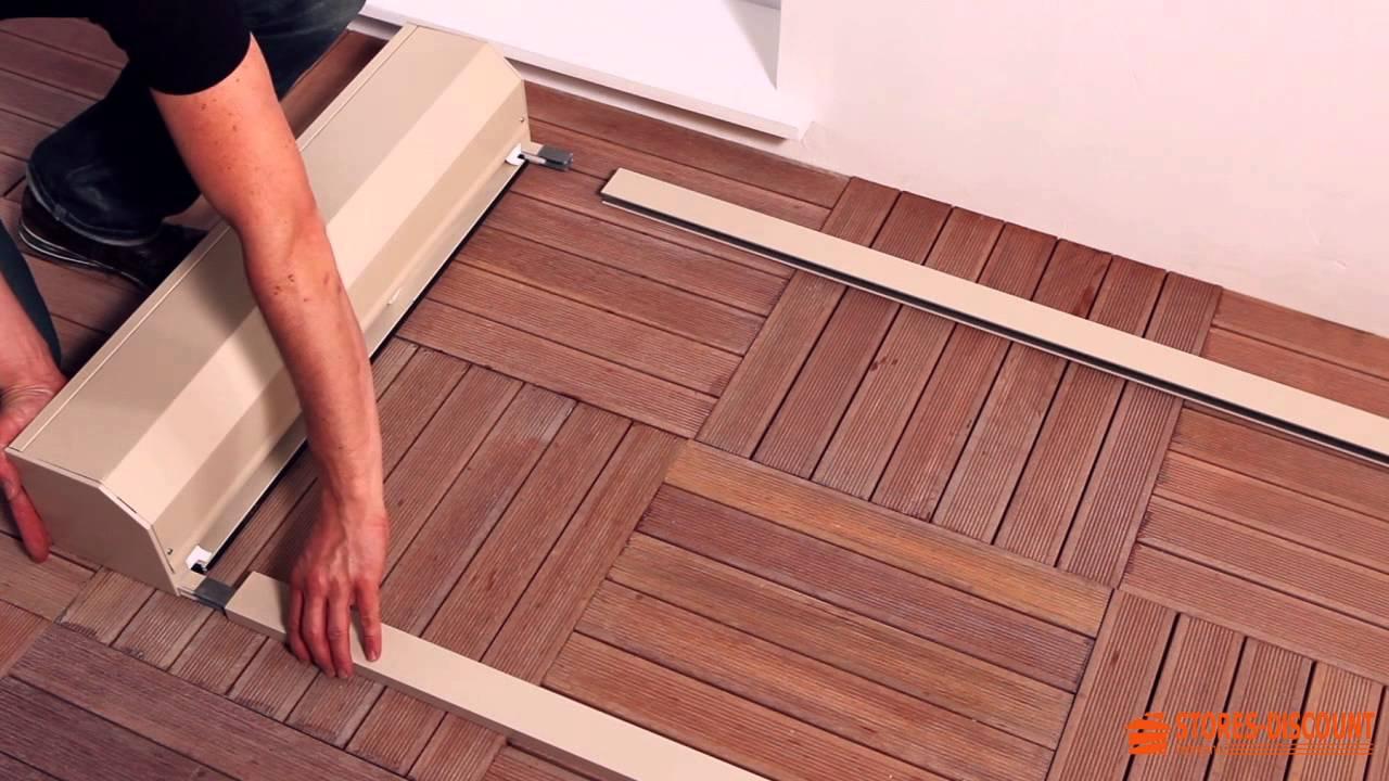 Comment Poser Un Volet Roulant Renovation Sous Linteau Et Linteau Inverse Youtube