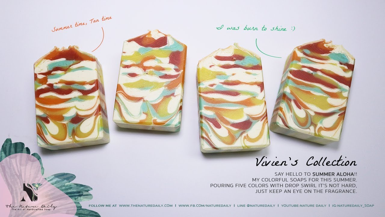 Soap Making - Summer Aloha by NatureDaily