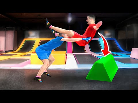 WWE MOVES AT THE TRAMPOLINE - THE FINALE