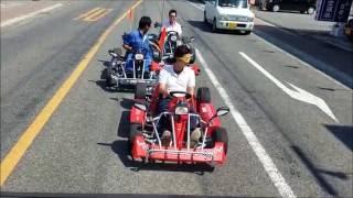 安全モータースのエンジェルカートは、公道を走行することができる楽し...