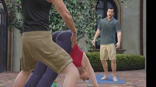 Yoga teacher fuck the Micheal