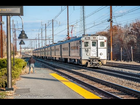 Amtrak HD EXCLUSIVE: Riding NJT Arrow III EMU on Holiday Extra Train 1099 (New York-Washington DC)