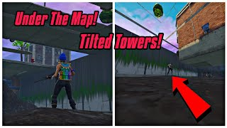 Under The Map Glitch On Tilted Towers In Fortnite (New) Fortnite Glitches Season 6 PS4/Xbox one 2018