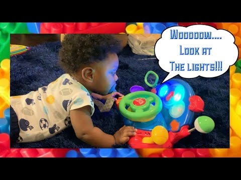 Hunter B's Amazon Toy Unboxing | Vtech | Fisher Price | Bright Starts | 8 Month Old Development Toys